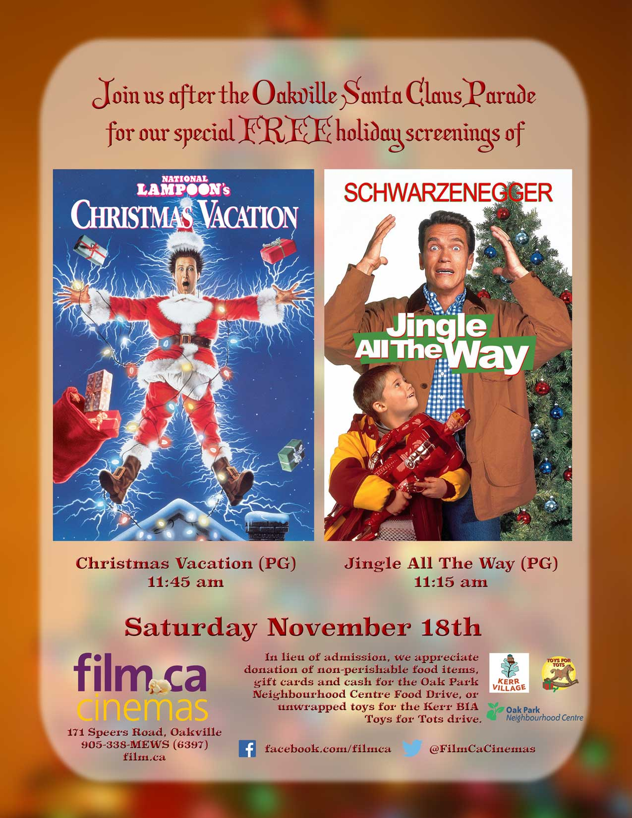 free christmas movies after the oakville santa claus parade - Christmas Movies For Free