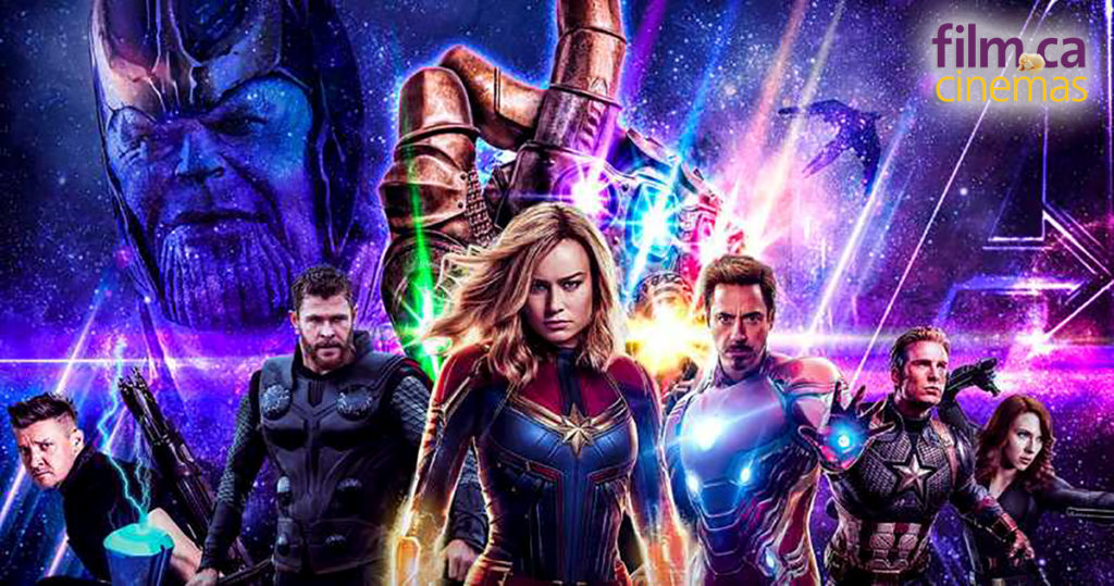 The first three showings of Avengers: Endgame have sold out at Film.Ca. Please check showtimes and preorder tickets.