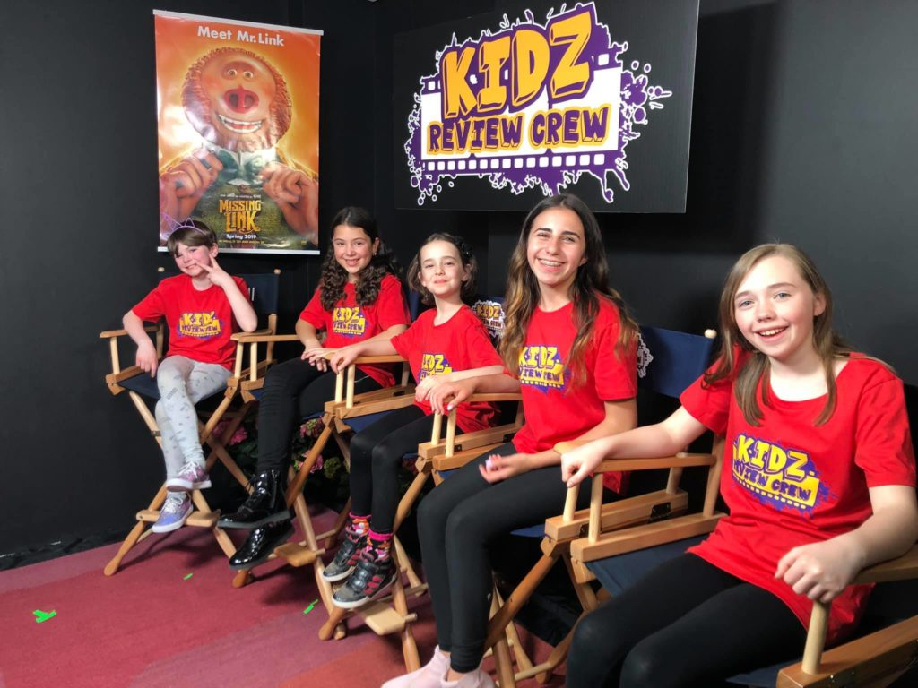 Our Kidz Review Crew: Addison, Sadie, Lily, Sabrina, and Sophia are ready to chat!